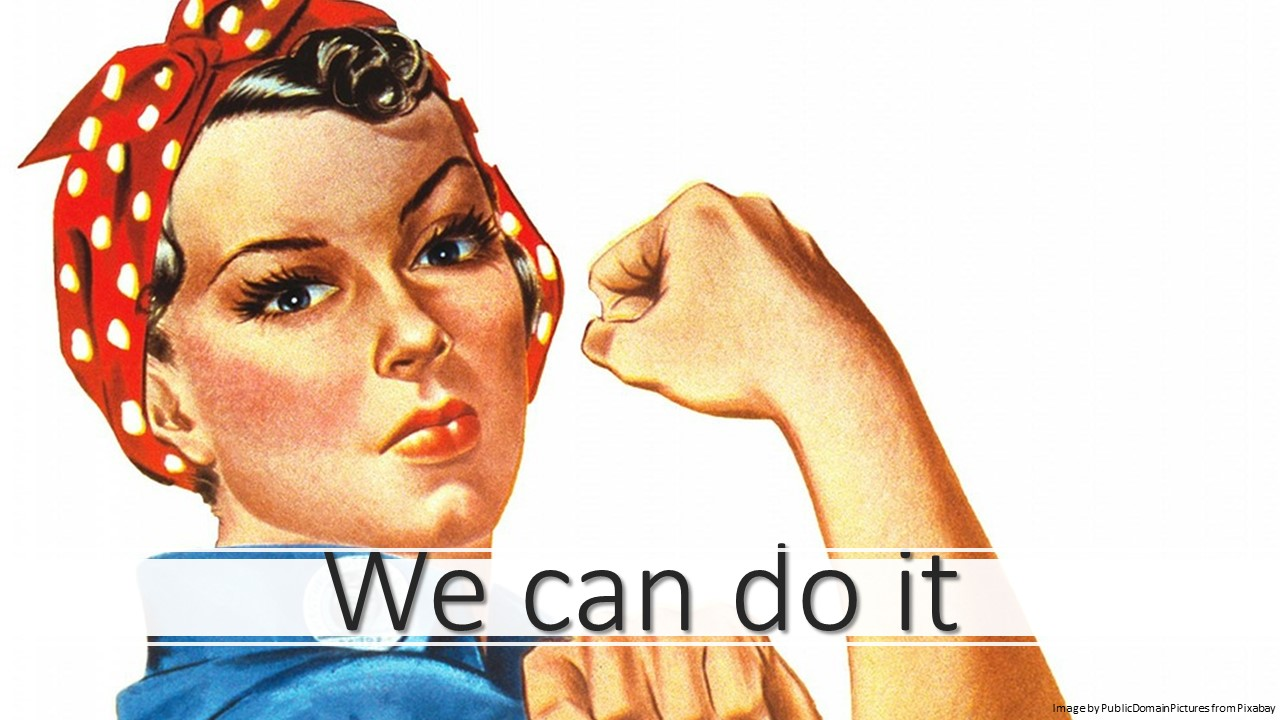 We can do it positive quotes