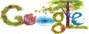 Happy Earth Google Doodle