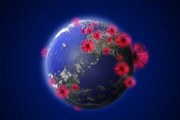 Coronavirus attacking earth